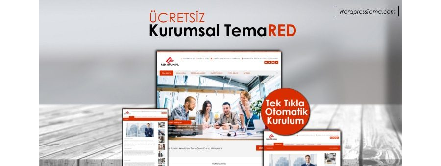 Ücretsiz Kurumsal Red