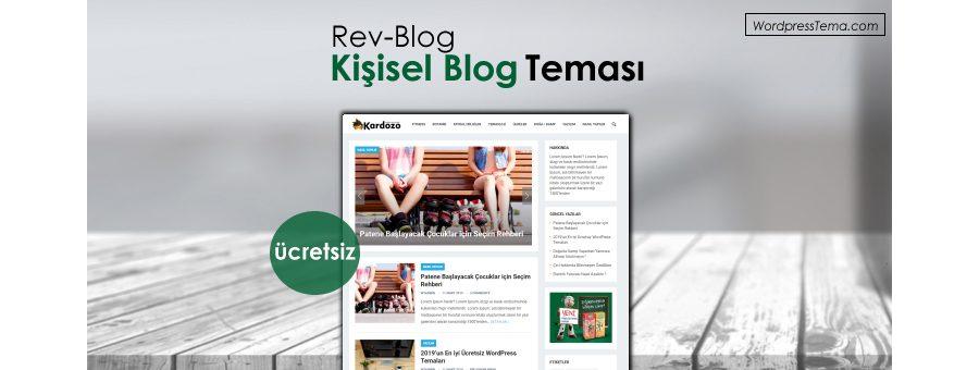 Rev Blog Teması